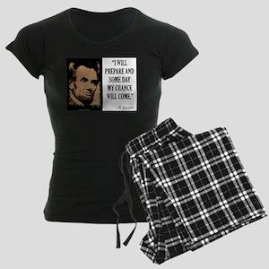 My Chance Will Come Women's Dark Pajamas