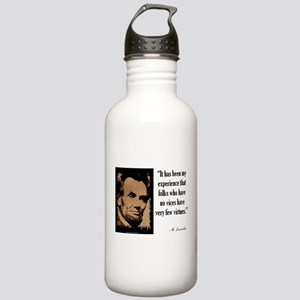Folks Who Have No Vices Stainless Water Bottle 1.0