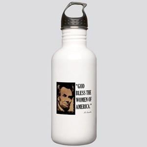 God Bless the Women Stainless Water Bottle 1.0L