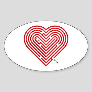 I Love Hilda Sticker