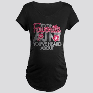Favorite Aunt Maternity Dark T-Shirt
