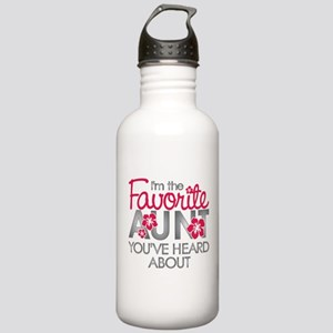 Favorite Aunt Stainless Water Bottle 1.0L