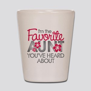 Favorite Aunt Shot Glass