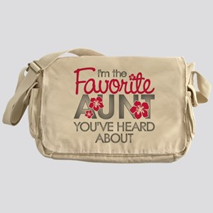 Favorite Aunt Messenger Bag
