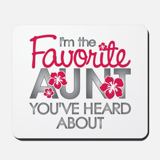 Favorite Aunt Mousepad