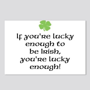 Lucky To Be Irish Postcards (Package of 8)