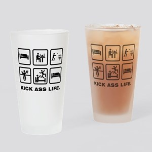 Disc Golf Drinking Glass