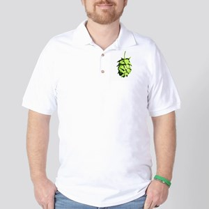 Graphical Hop Cone Golf Shirt