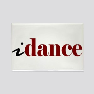 "I ""Dance"" Rectangle Magnet"