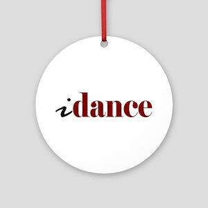 "I ""Dance"" Ornament (Round)"