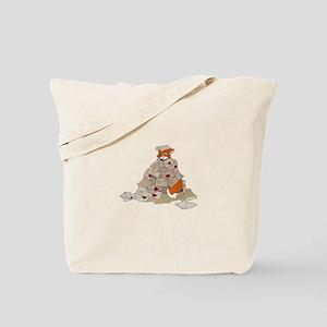 Feedback fox Tote Bag