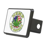 Hemp for Victory Rectangular Hitch Cover
