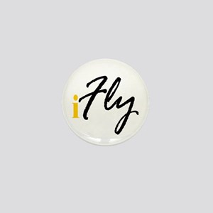I Fly (black) Mini Button
