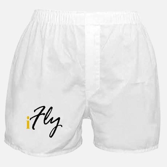 I Fly (black) Boxer Shorts