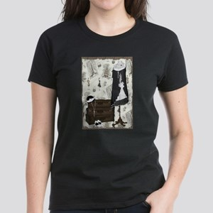 Gatsby In Paris Women's Dark T-Shirt
