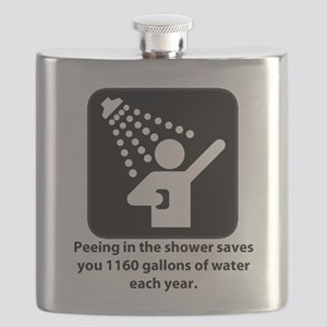 Peeing in the Shower Flask