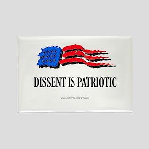 """""""Citizen Patriot"""" Rectangle Magnet"""
