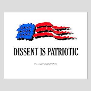 """Citizen Patriot"" Small Poster"