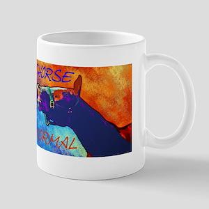 Crazy Horse Smile Design & Saying Mug