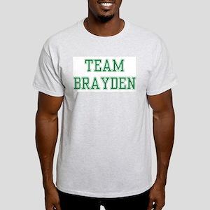 TEAM BRAYDEN  Ash Grey T-Shirt