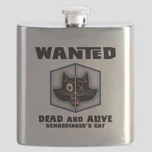 Schrodinger's Cat Wanted Flask