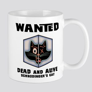 Schrodinger's Cat Wanted Mug