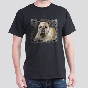 Dogs, english bulldogge, grim looking T-Shirt
