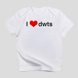 I Heart DWTS Infant T-Shirt