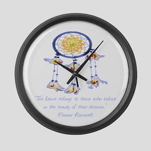 Dream Catcher Large Wall Clock
