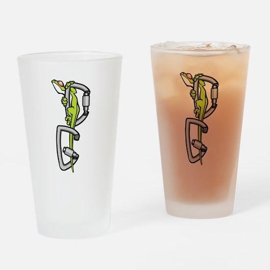 Deaf Gecko Logo Drinking Glass