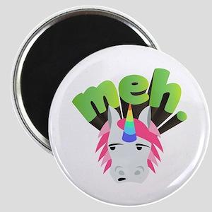 Emoji Unicorn Meh Magnet