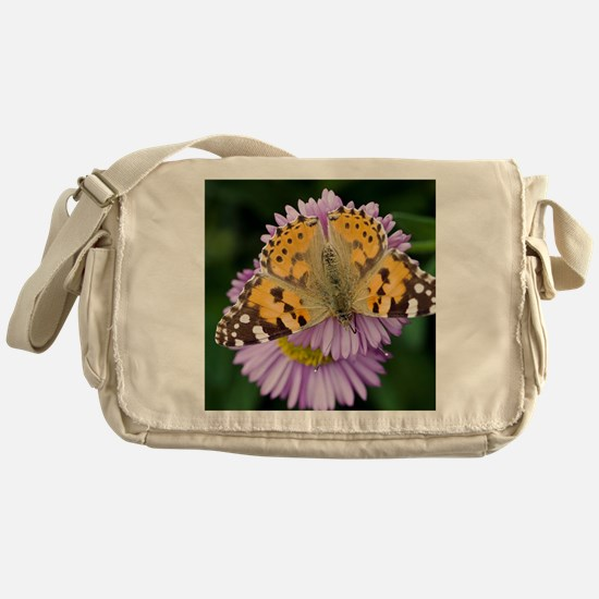 Painted Lady butterfly - Messenger Bag