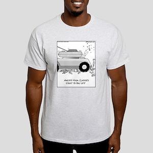 Yoga Classes Ash Grey T-Shirt