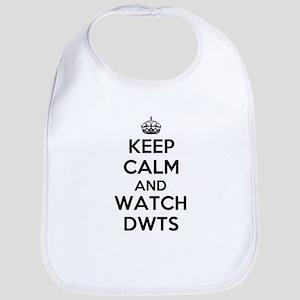 Keep Calm and Watch DWTS Bib