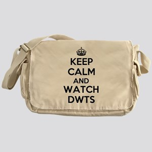 Keep Calm and Watch DWTS Messenger Bag
