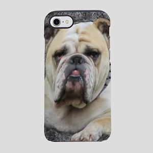 Dogs, english bulldogge, grim iPhone 7 Tough Case