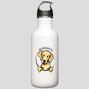 Golden Retriever IAAM Stainless Water Bottle 1.0L
