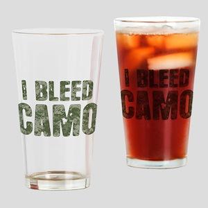 I Bleed Camo (digi) Drinking Glass