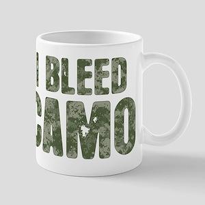 I Bleed Camo (digi) Mug