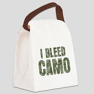 I Bleed Camo (digi) Canvas Lunch Bag