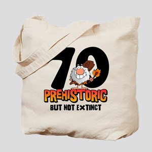 Prehistoric 70th Birthday Tote Bag