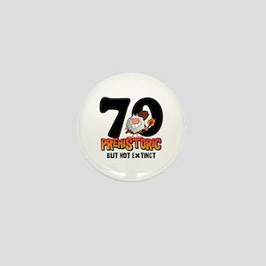 Prehistoric 70th Birthday Mini Button (10 pack)