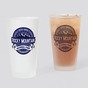 Rocky Mountain Midnight Drinking Glass
