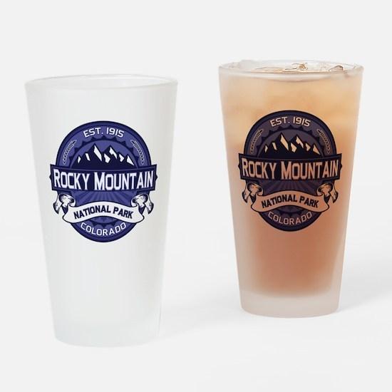 Rocky Mountain Midnight Drinking Glass