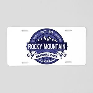 Rocky Mountain Midnight Aluminum License Plate