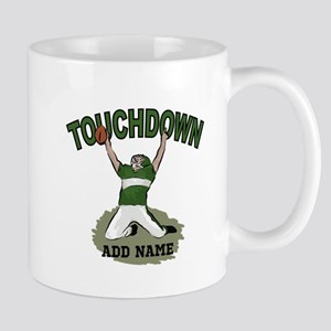 personalized Grid iron footballer Mug