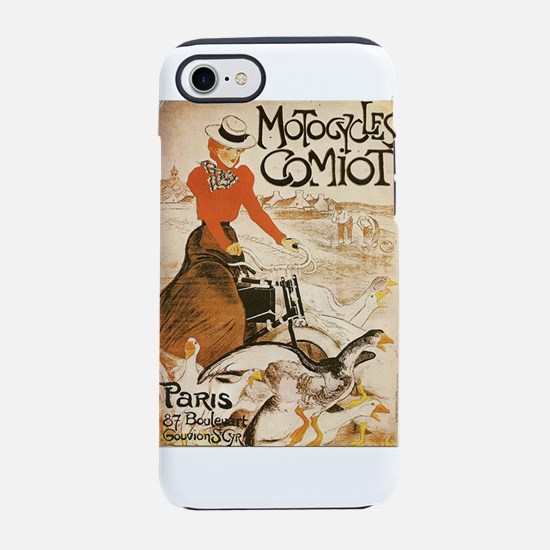 Motocycles Comiot French Ad iPhone 7 Tough Case