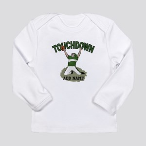personalized Grid iron footballer Long Sleeve T-Sh