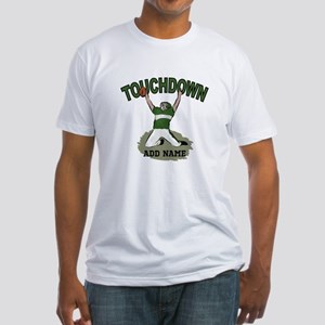personalized Grid iron footballer T-Shirt