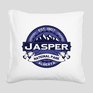 Jasper Midnight Square Canvas Pillow